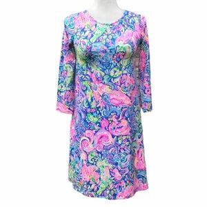 LillyPulitzer Ophelia dress, Pop up 60 Animals,XXS